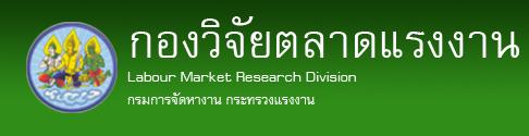 กองวิจัยตลาดแรงงาน