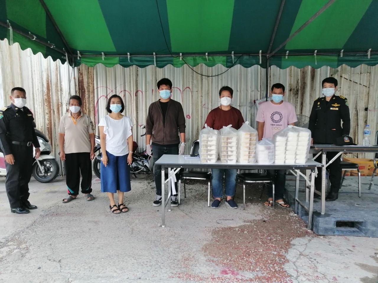 สำนักงานจัดหางานกรุงเทพมหานครพื้นที่ 3 ได้ดำเนินโครงการให้ความช่วยเหลือแรงงานด้านอาหาร