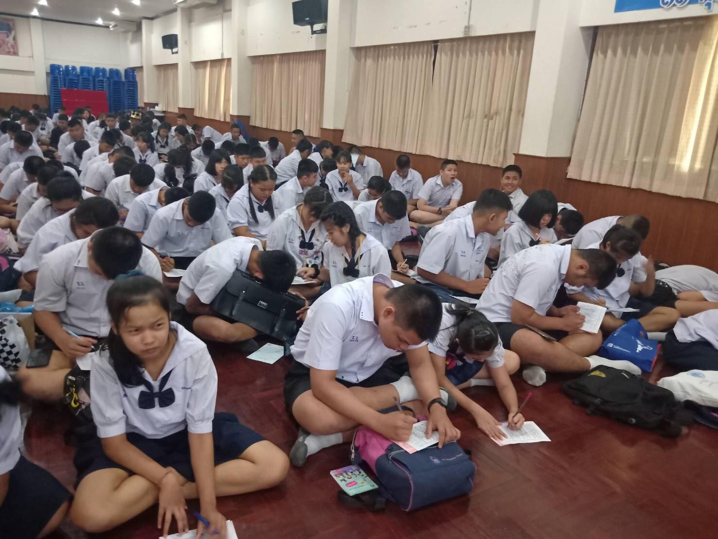 สจก.8 จัดกิจกรรมแนะแนวอาชีพนักเรียนนักศึกษา ณ โรงเรียนราชาธิวาสวิหาร เขตดุสิต กรุงเทพฯ