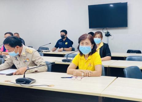8 มิถุนายน 2564 จัดหางานจังหวัดพระนครศรีอยุธยาประชุมหารือเรื่องการควบคุมมาตรการการแพร่ระบาด