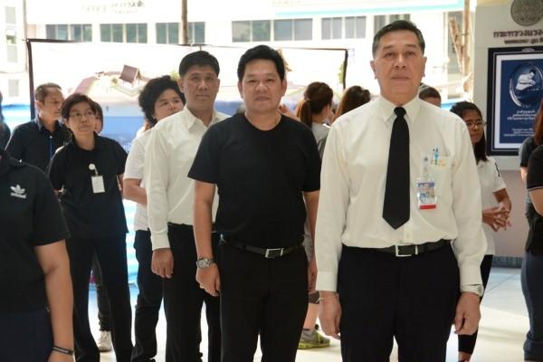 รมว. แรงงาน นำทีมผู้บริหารระดับสูง ข้าราชการ และเจ้าหน้าที่ในสังกัดกระทรวงแรงงานออกกำลังกาย