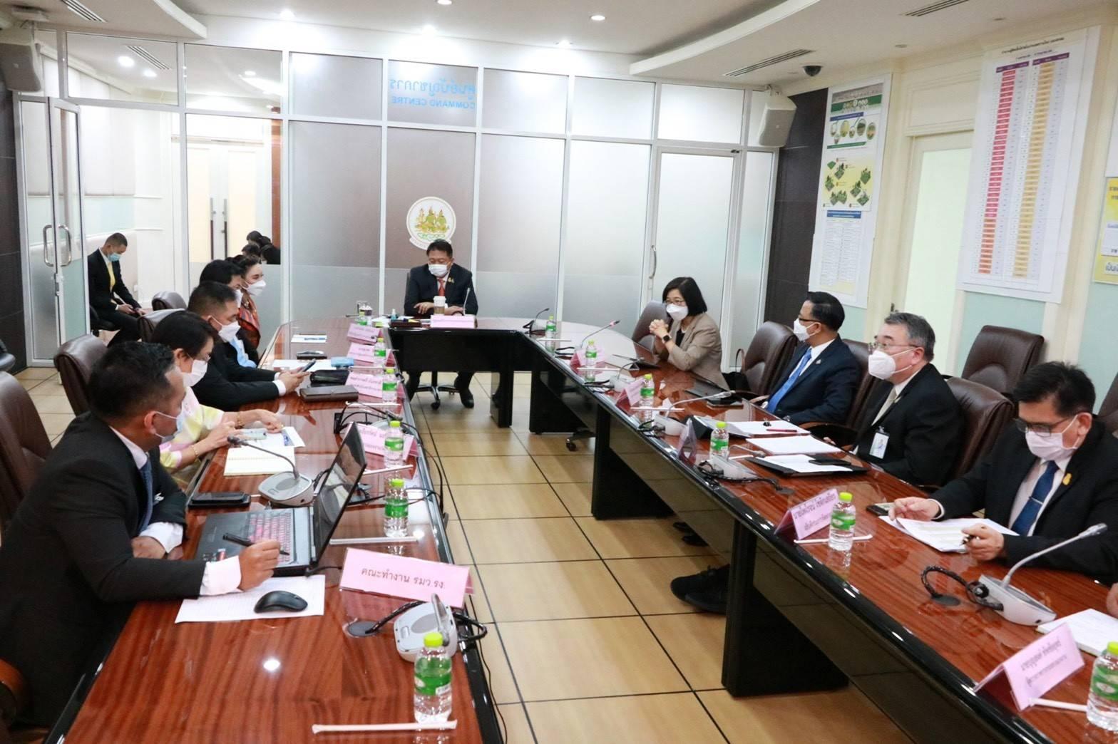 อธิบดีกรมการจัดหางาน  ร่วมประชุมหารือกับสำนักงานคณะกรรมการส่งเสริมการลงทุน (BOI)