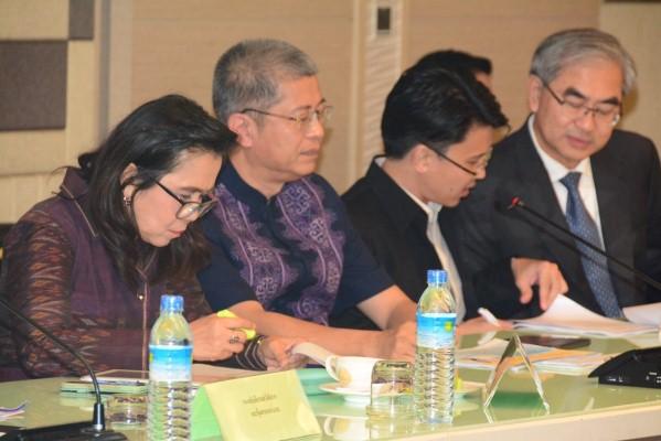 การประชุมหารือเพื่อติดตามความก้าวหน้าในการดำเนินการ พิจารณาร่างรายงานความก้าวหน้าการแก้ไขปัญหาประมงผิดกฎหมายต่อสหภาพยุโรป