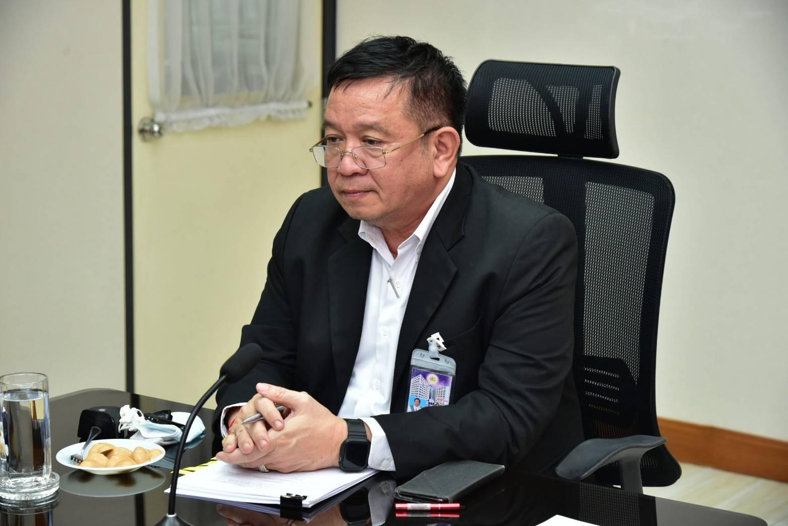 ผู้ตรวจราชการกรม ร่วมประชุมคณะกรรมการเฉพาะกิจแก้ไขปัญหาการทำประมงผิดกฎหมาย ผ่านระบบZoom