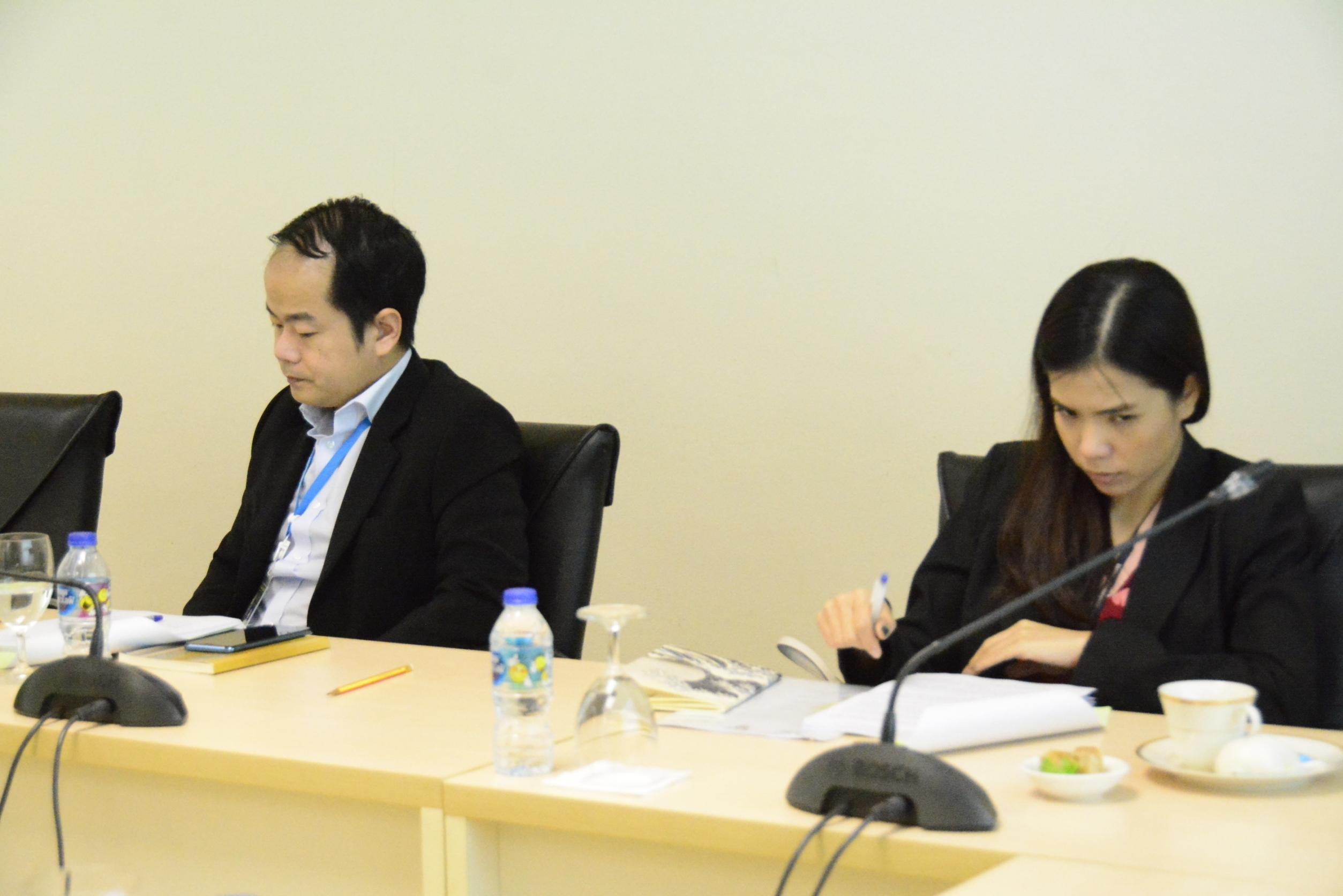 ผู้ตรวจราชการกรม ประชุมคณะอนุกรรมการพิจารณากลั่นกรองการจัดสรรเงินกองทุนเพื่อการบริหารจัดการการทำงานของคนต่างด้าว ประจำปีงบประมาณ 2563 ครั้งที่ 6/2563