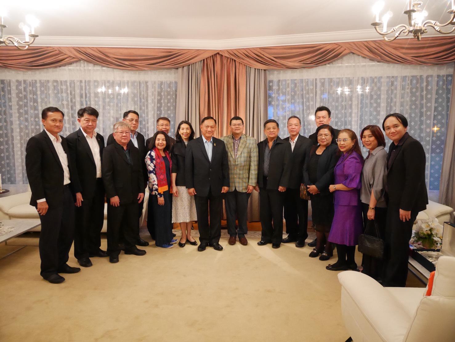 รมว.แรงงานและคณะ เข้าพบเอกอัครราชทูต ผู้แทนถาวรไทยประจำสหประชาชาติ ณ นครเจนีวา