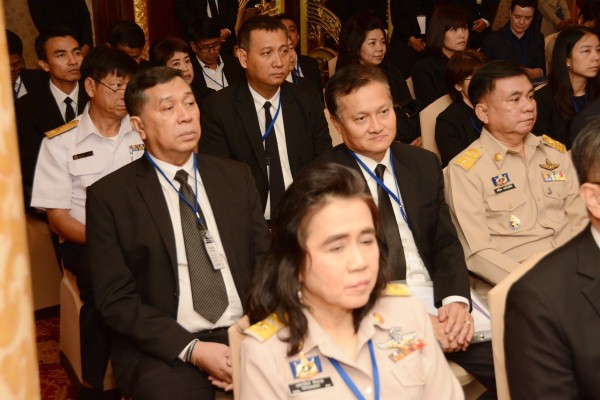 นายสมบัติ นิเวศรัตน์ รองอธิบดีกรมการจัดหางาน ร่วมประชุมประชุมเจ้าหน้าที่ระดับสูงด้านแรงงานในกลุ่มประเทศเพื่อนบ้าน  CLMVT (กัมพูชา ลาว เมียนมา เวียดนาม และไทย) เรื่องการเคลื่อนย้ายแรงงานอย่างปลอดภัย ณ โรงแรมดิเอเมอรัลด์ กรุงเทพฯ