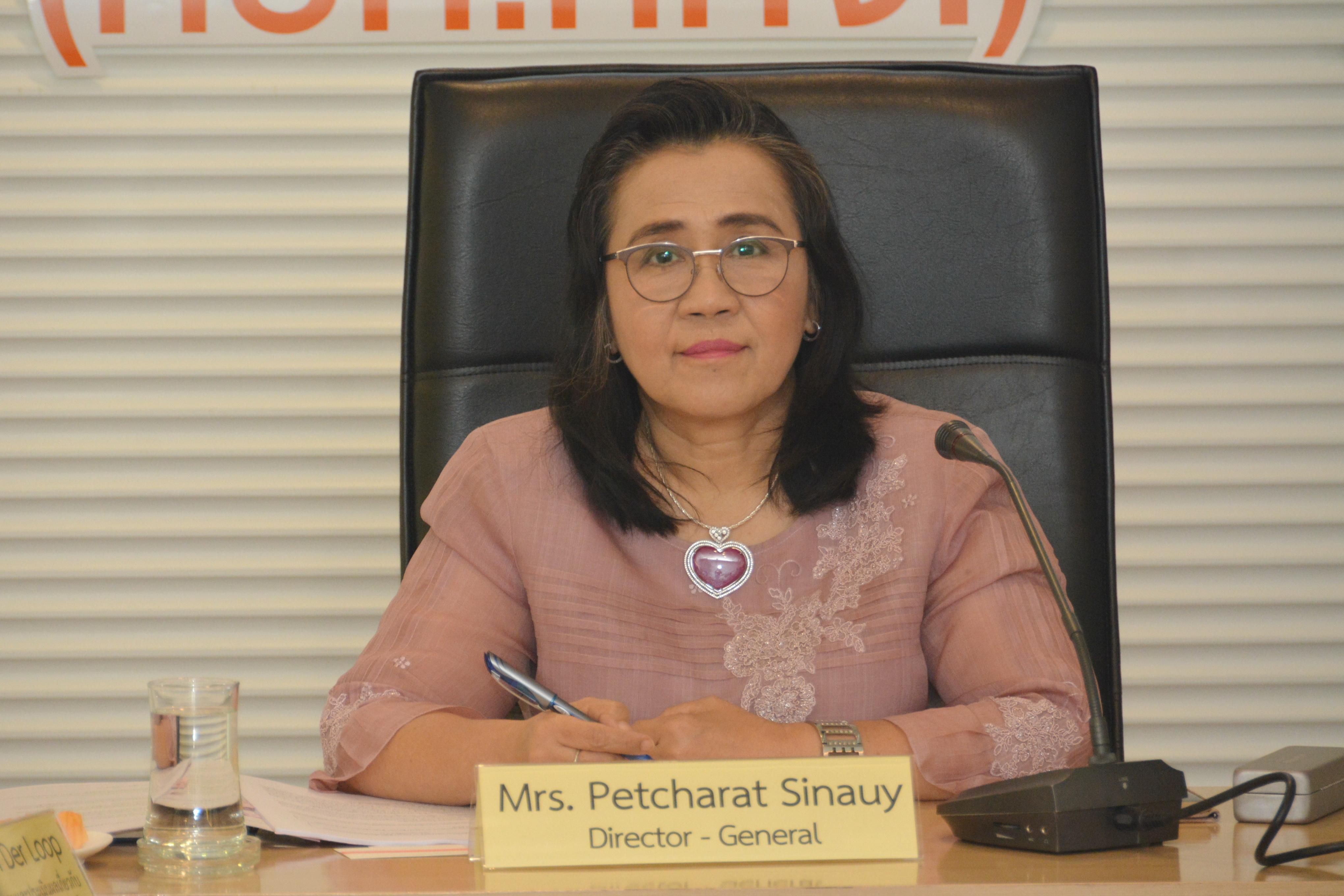 หารือที่ปรึกษาอิสระด้านการติดตามและประเมินผลเกี่ยวกับการดำเนินโครงการ TRIANGLE in ASEAN  ในประเทศไทย