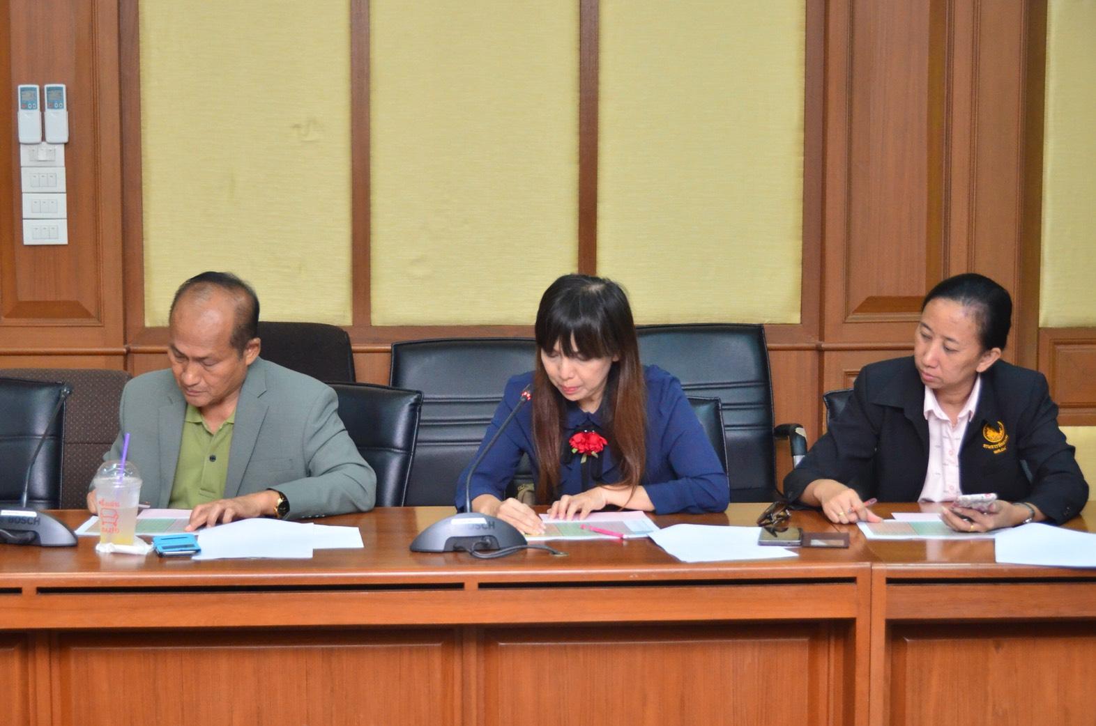 ประชุมแนวทางการดำเนินการกรณีแรงงานต่างด้าวยื่นคำขอภายในวันที่ 31 มีนาคม 2561 ณ ห้องประชุม เทียน อัชกุล ชั้น 10  กรมการจัดหางาน