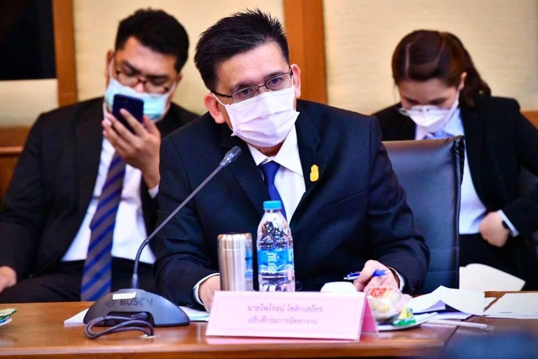 กกจ. ประชุมคณะกรรมการนโยบายการบริหารจัดการการทำงานของคนต่างด้าว (คบต.) ครั้งที่ 4/2564