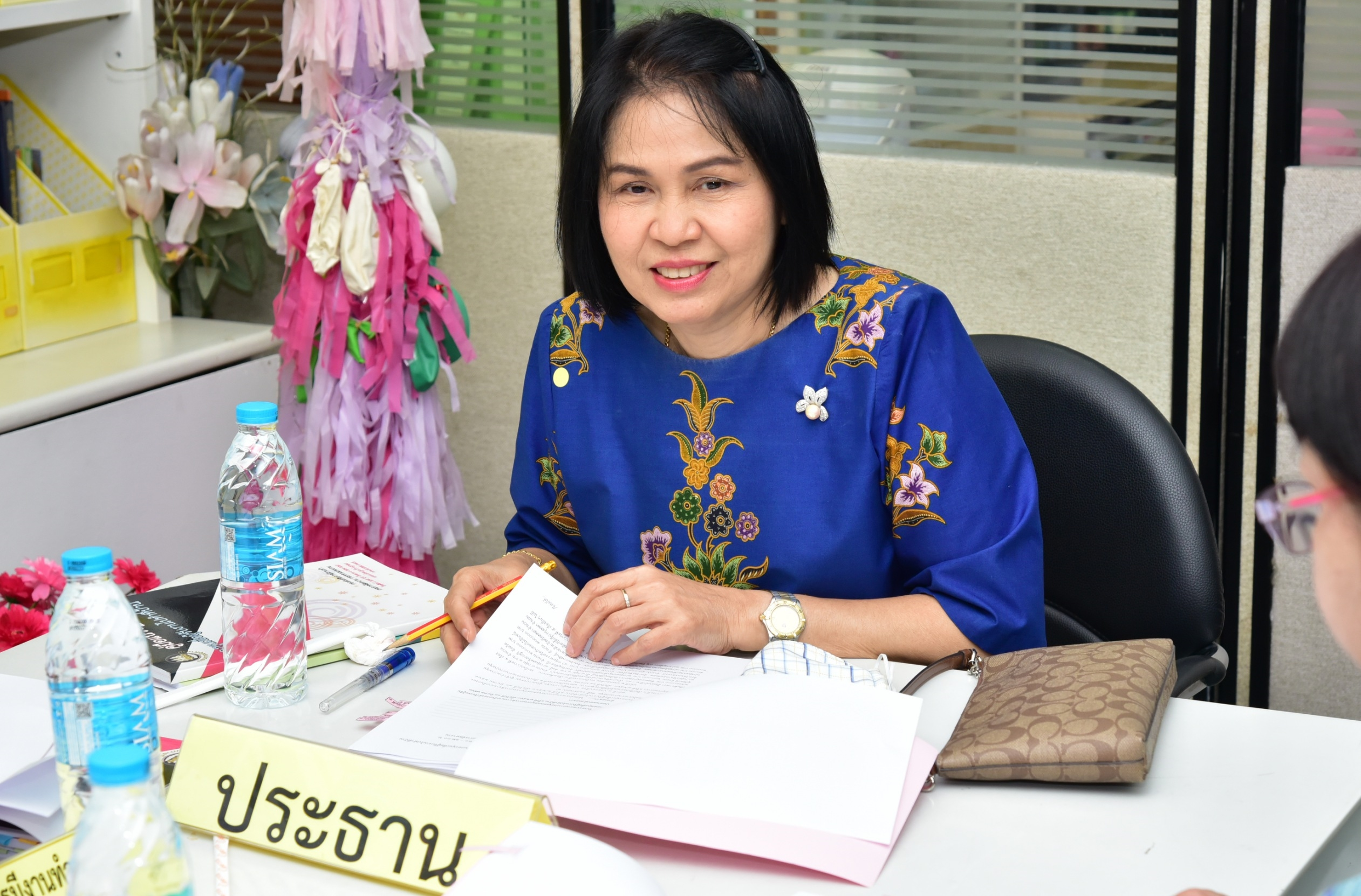 กรมการจัดหางาน ประชุมคณะอนุกรรมการพิจารณากลั่นกรองคำร้องขอกู้ยืมเงินกองทุนเพื่อผู้รับงานไปทำที่บ้าน