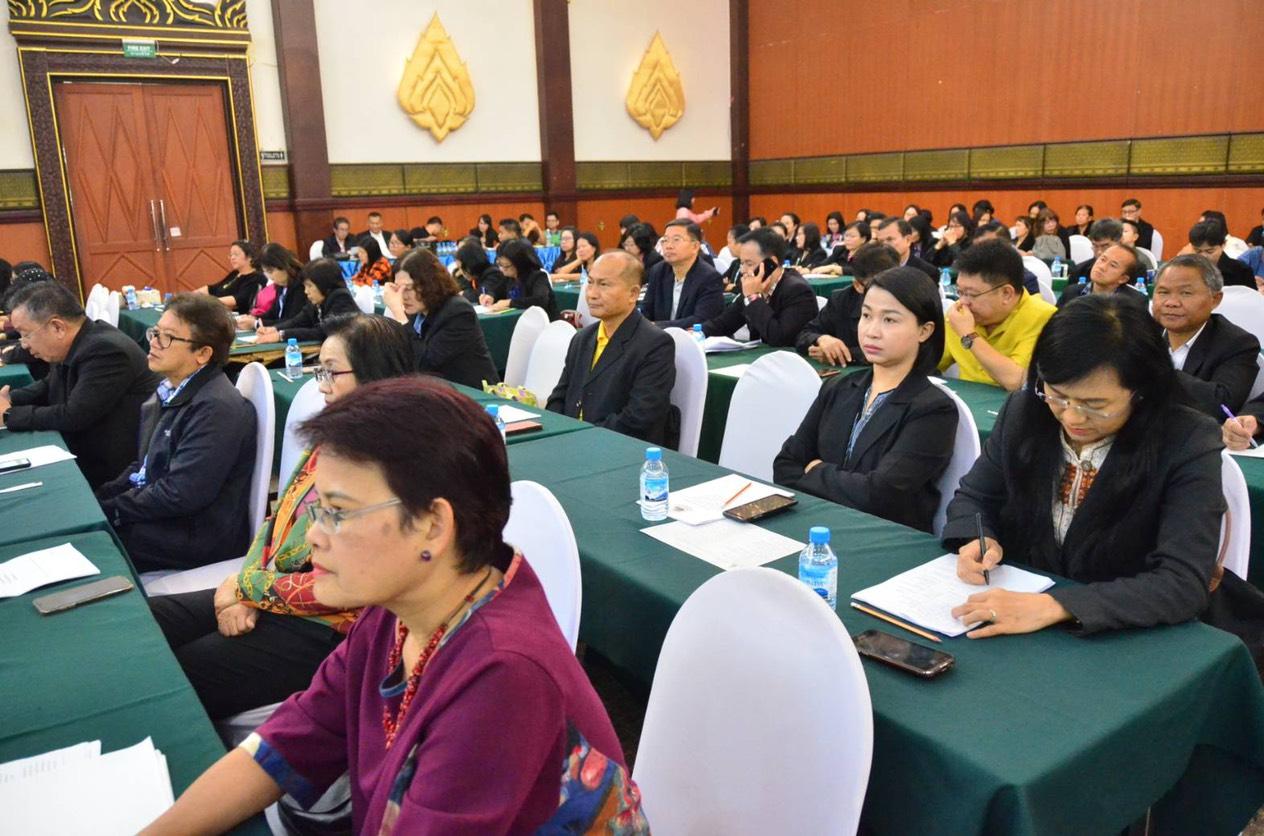 สัมมนาการเพิ่มประสิทธิภาพการบริหารจัดการแรงงานต่างด้าว สัญชาติกัมพูชา ลาว และเมียนมา