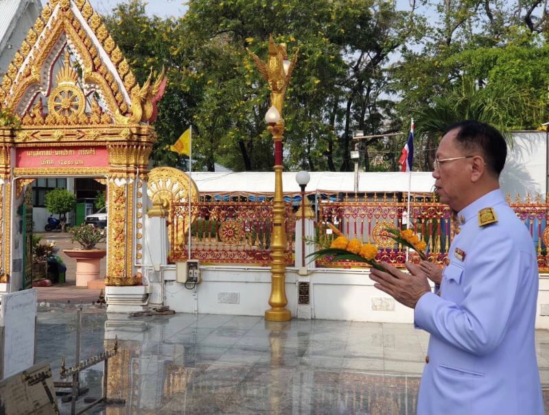 กกจ. ร่วมพิธีถวายผ้ากฐินพระราชทานของกระทรวงแรงงาน ประจำปี 2562 ทำนุบำรุงพระพุทธศาสนา สืบทอดขนบธรรมเนียมประเพณีอันงดงามของไทย