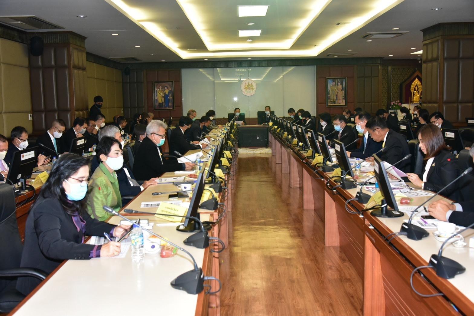 กรมการจัดหางาน ร่วมให้การต้อนรับคณะกรรมาธิการการแรงงาน วุฒิสภา
