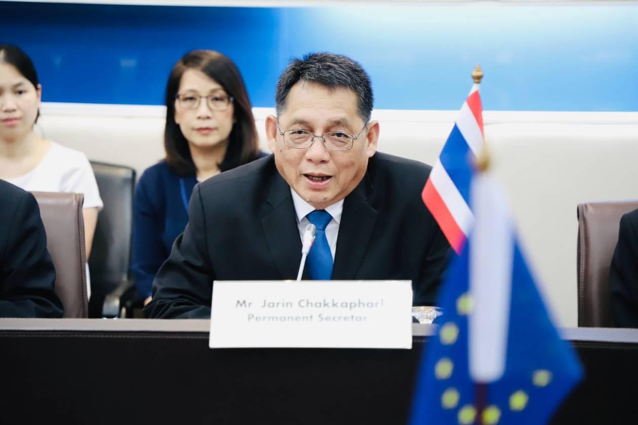 อธิบดี กกจ.ร่วมให้การต้อนรับรองหัวหน้าคณะผู้แทนสหภาพยุโรปประจำประเทศไทย