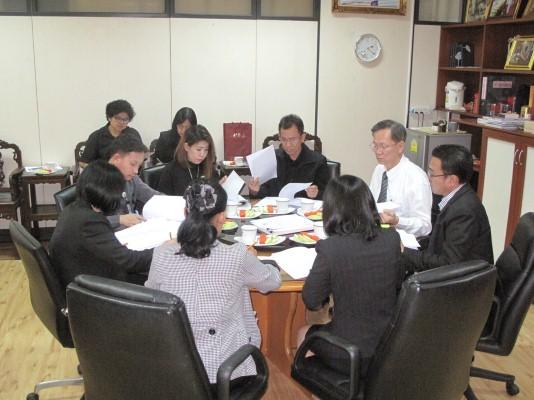 ประชุมคณะกรรมการดำเนินการจ้างที่ปรึกษาเพื่อจัดทำกฎหมายลำดับรองหรืออนุบัญญัติส่งเสริมการมีงานทำแห่งชา