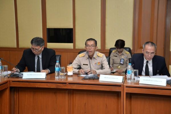 กระทรวงแรงงานและสมาคมการประมงแห่งประเทศไทยหารือเกี่ยวกับปัญหาการขาดแคลนแรงงานต่างด้าวฯ