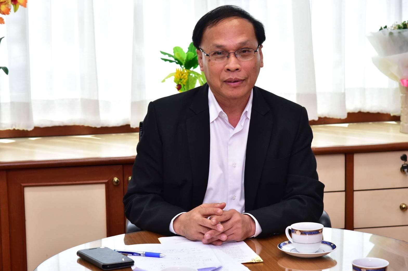 รองอธิบดีกรมการจัดหางาน ต้อนรับรองอธิบดีกรมการกงสุล เพื่อหารือเรื่องแรงงานไทยที่อุซเบกิสถาน