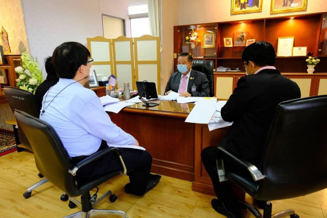 รองอธิบดีกรมการจัดหางาน  ร่วมประชุมคณะอนุกรรมการขับเคลื่อนเพื่อเพิ่มประสิทธิภาพในการแก้ไขปัญหาการค้ามนุษย์อย่างยั่งยืน ผ่านโปรแกรม ZOOM