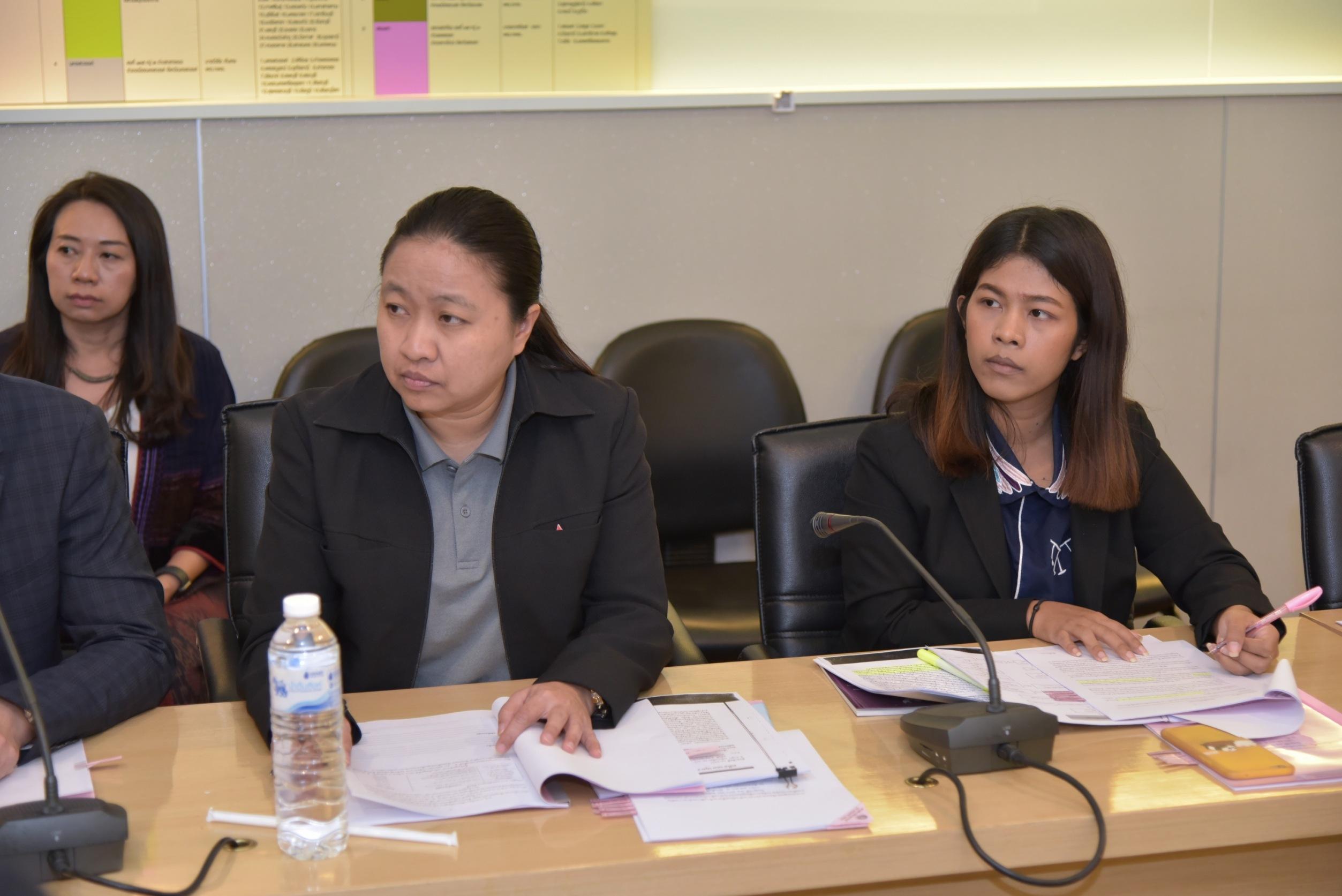 กรมการจัดหางาน ประชุมหารือแนวทางการดำเนินคดีนายจ้างที่กระทำความผิด