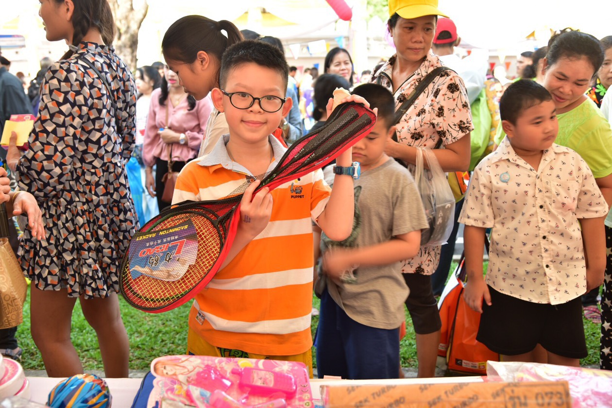 """กกจ. ร่วมจัดกิจกรรม """"วันเด็กแห่งชาติ ประจำปี 2562"""" ที่กระทรวงศึกษาธิการ"""