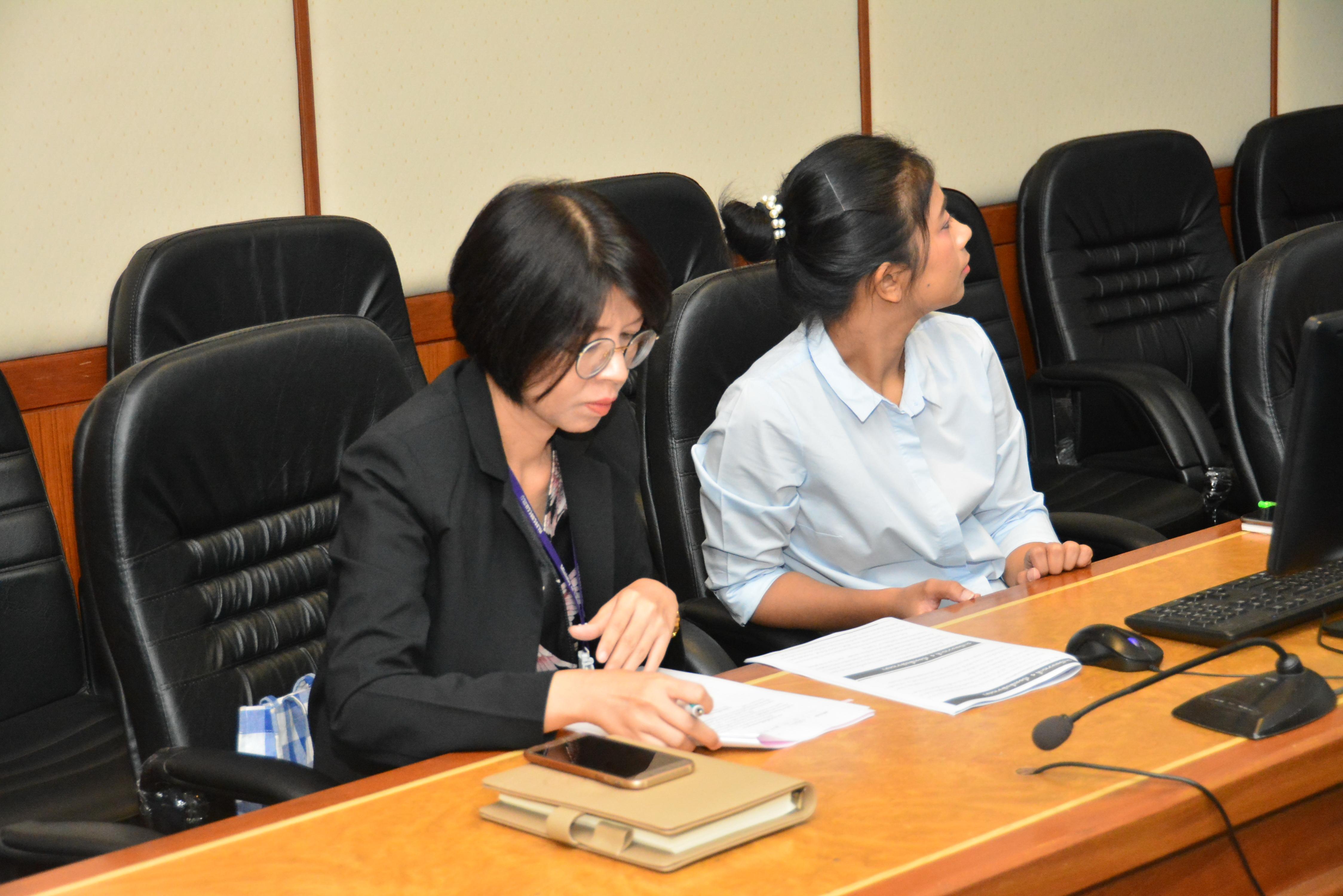 ก.แรงงาน ประชุมคณะทำงานฯ งานกาชาด ประจำปี 2561  ครั้งที่ 2/2562