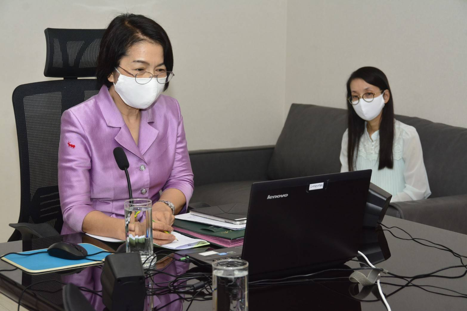 การประชุมร่วมกับเจ้าหน้าที่สังกัดศูนย์บริหารข้อมูลตลาดแรงงานภาคใต้