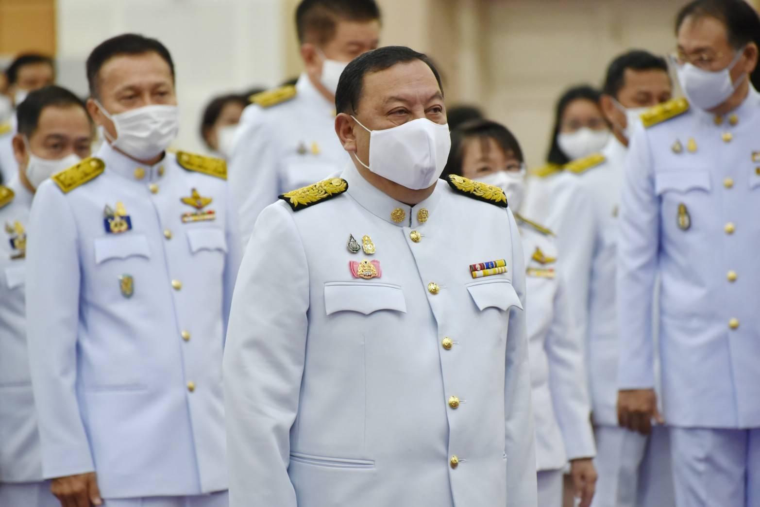 กรมการจัดหางาน ร่วมพิธีถวายสัตย์ปฏิญาณฯ ถวายพระพรชัยมงคลเนื่องในวันเฉลิมพระชนมพรรษาฯ