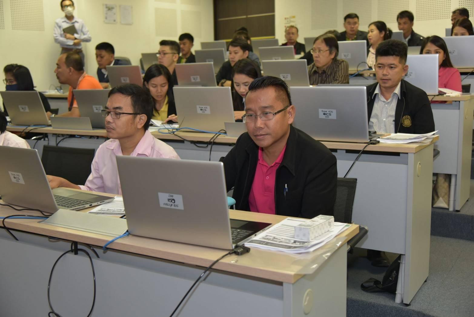 รองอธิบดี เปิดอบรมโครงการปรับปรุงระบบบริการจัดหางานในประเทศผ่านระบบอิเล็กทรอนิกส์ รุ่น 2
