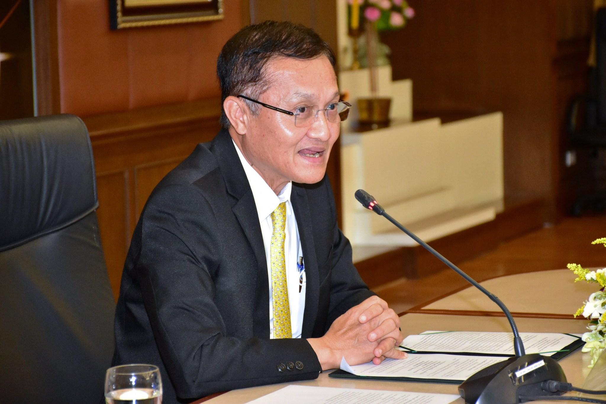ผู้ตรวจราชการกรม กรมการจัดหางาน ร่วมประชุมแถลงเตรียมจัดพิธีมอบรางวัล Thailand Labour Management Excellence Award 2020
