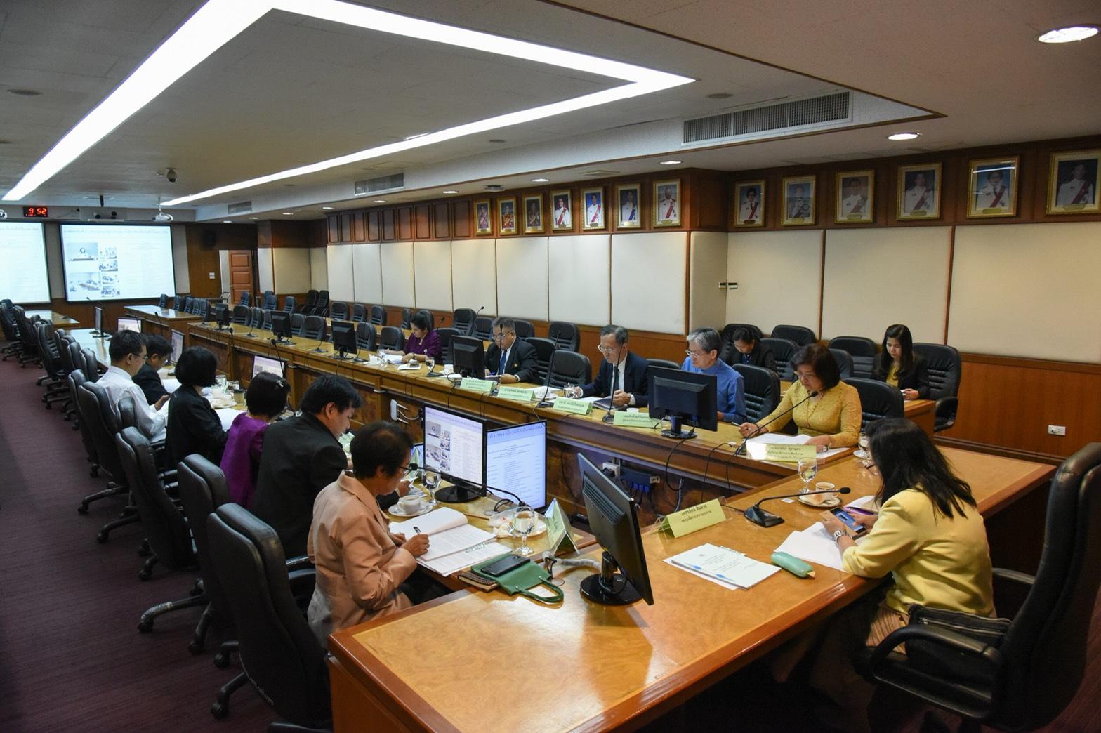ประชุมคณะกรรมการกำกับ ดูแล และติดตามการดำเนินการศูนย์บริการร่วมกระทรวงแรงงาน ครั้งที่ 2/2561