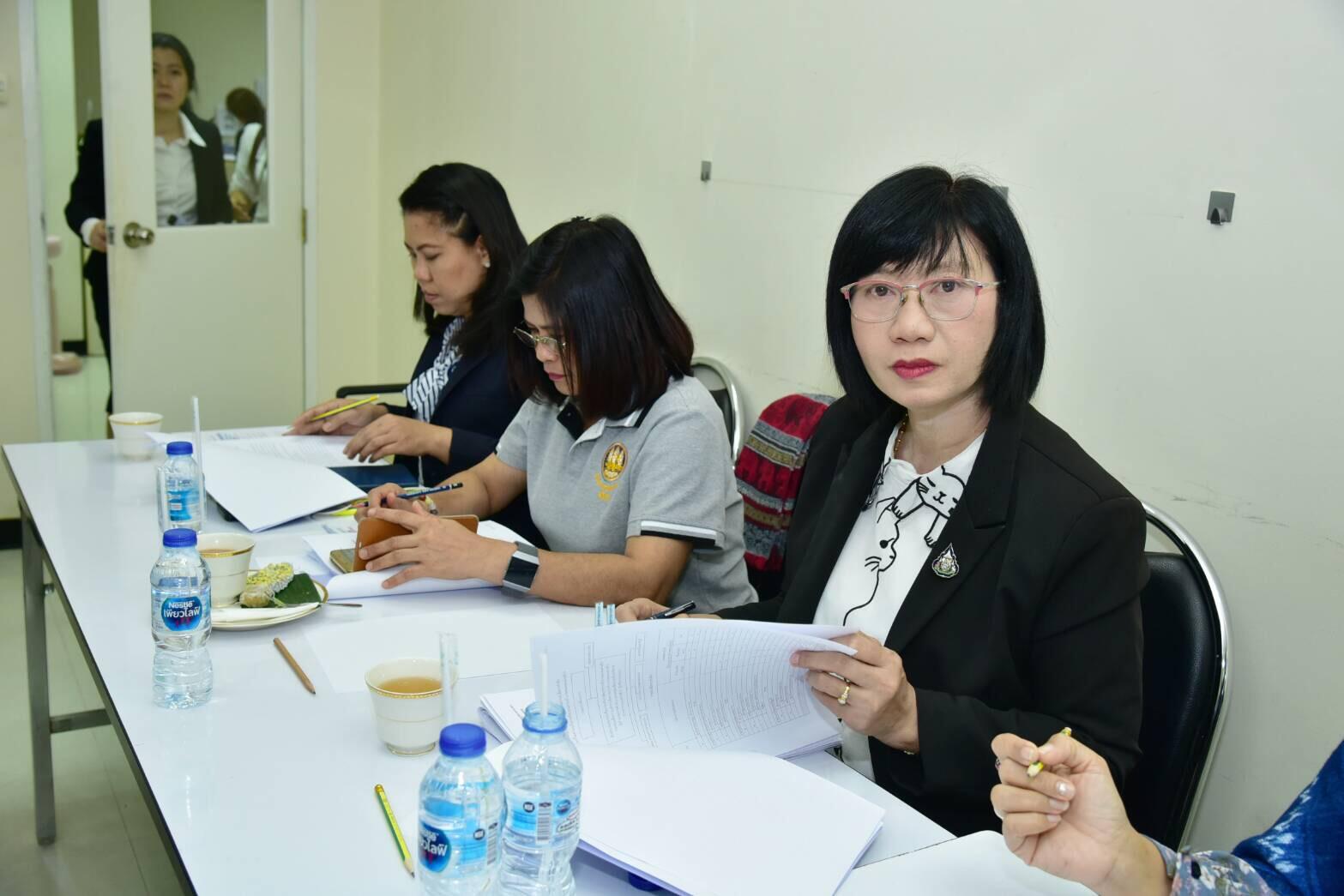 การประชุมคณะอนุกรรมการพิจารณากลั่นกรองกฎหมายกองทุนเพื่อการบริหารจัดการการทำงานของคนต่างด้าว ครั้งที่ 6/2562