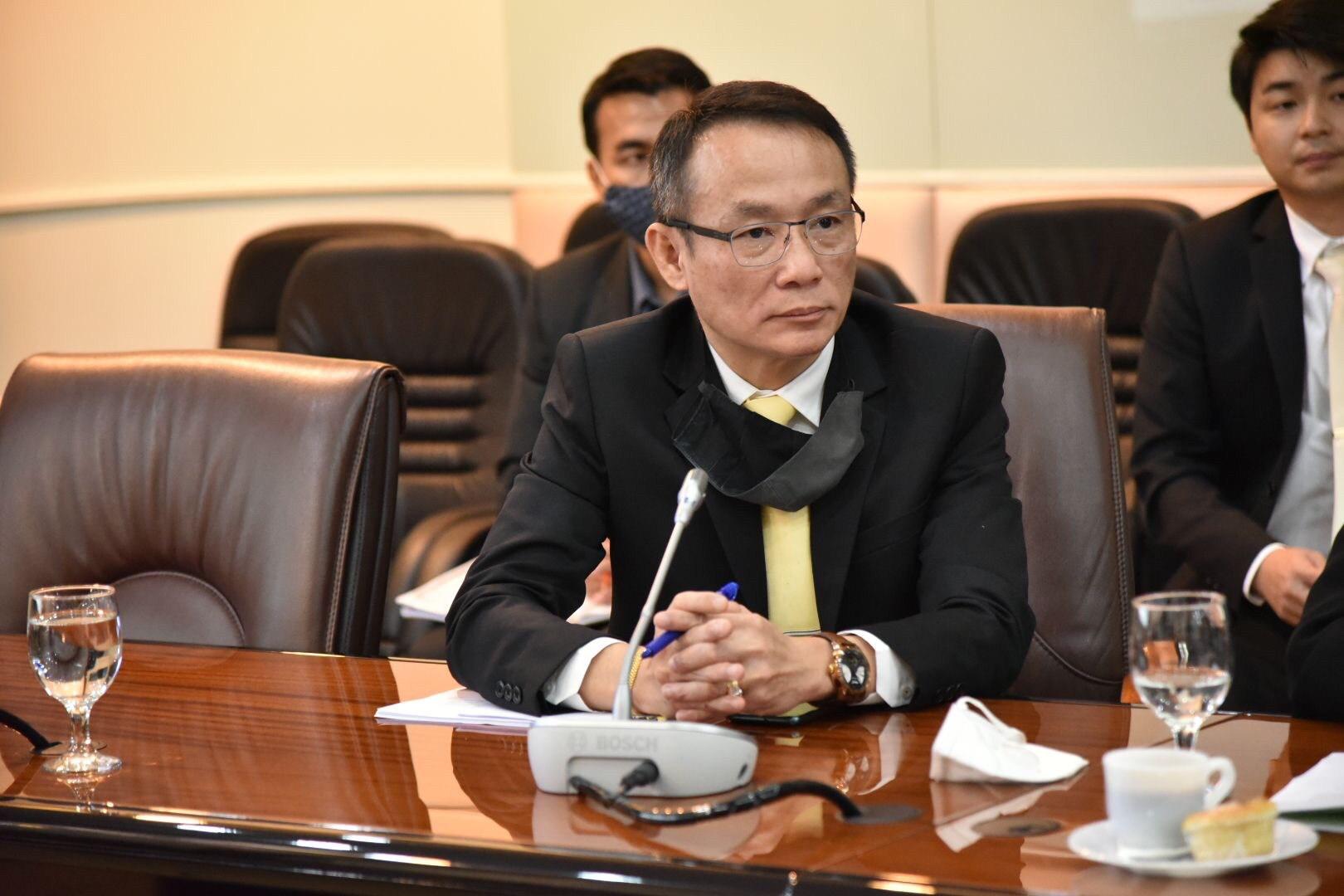 รองอธิบดีกรมการจัดหางาน  ร่วมชี้แจงความคืบหน้าโครงการ JOB EXPO THAILAND 2020ฯ