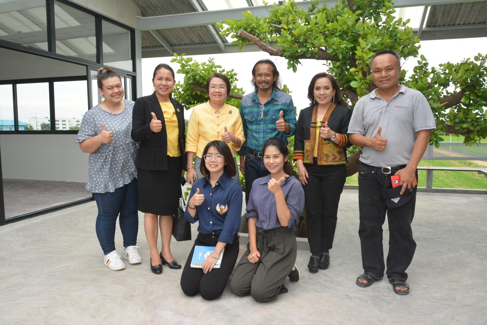 รองอธิบดีกรมการจัดหางานเยี่ยมศูนย์ฝึกอบรมและฟื้นฟูเยียวยาแรงงานไทยและแรงงานข้ามชาติ