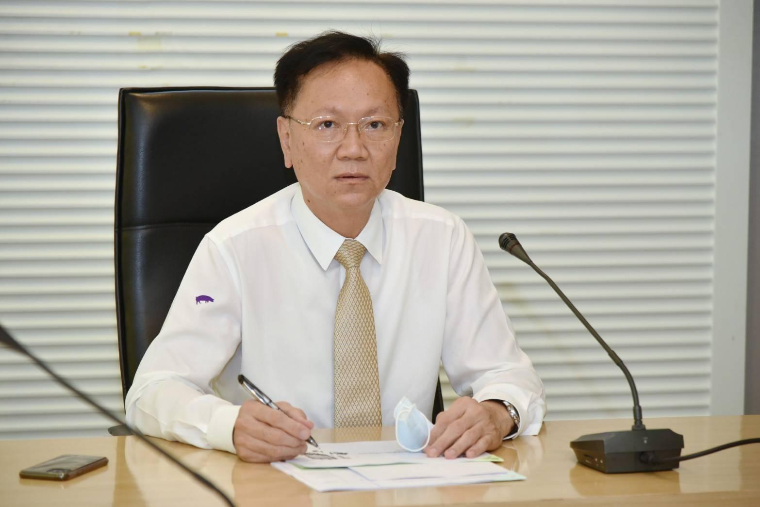 นายสุชาติ พรชัยวิเศษกุล  อธิบดีกรมการจัดหางาน ประชุมหารือกับหน่วยงานที่เกี่ยวข้อง  เช่น ธนาคารแห่งประเทศไทย สำนักงานพัฒนารัฐบาลอิเล็กทรอนิกส์ (DGA) สภาดิจิทัลเพื่อเศรษฐกิจและสังคม ผ่านระบบ  VDO Conference เกี่ยวกับการพัฒนา platform การจ้างงาน