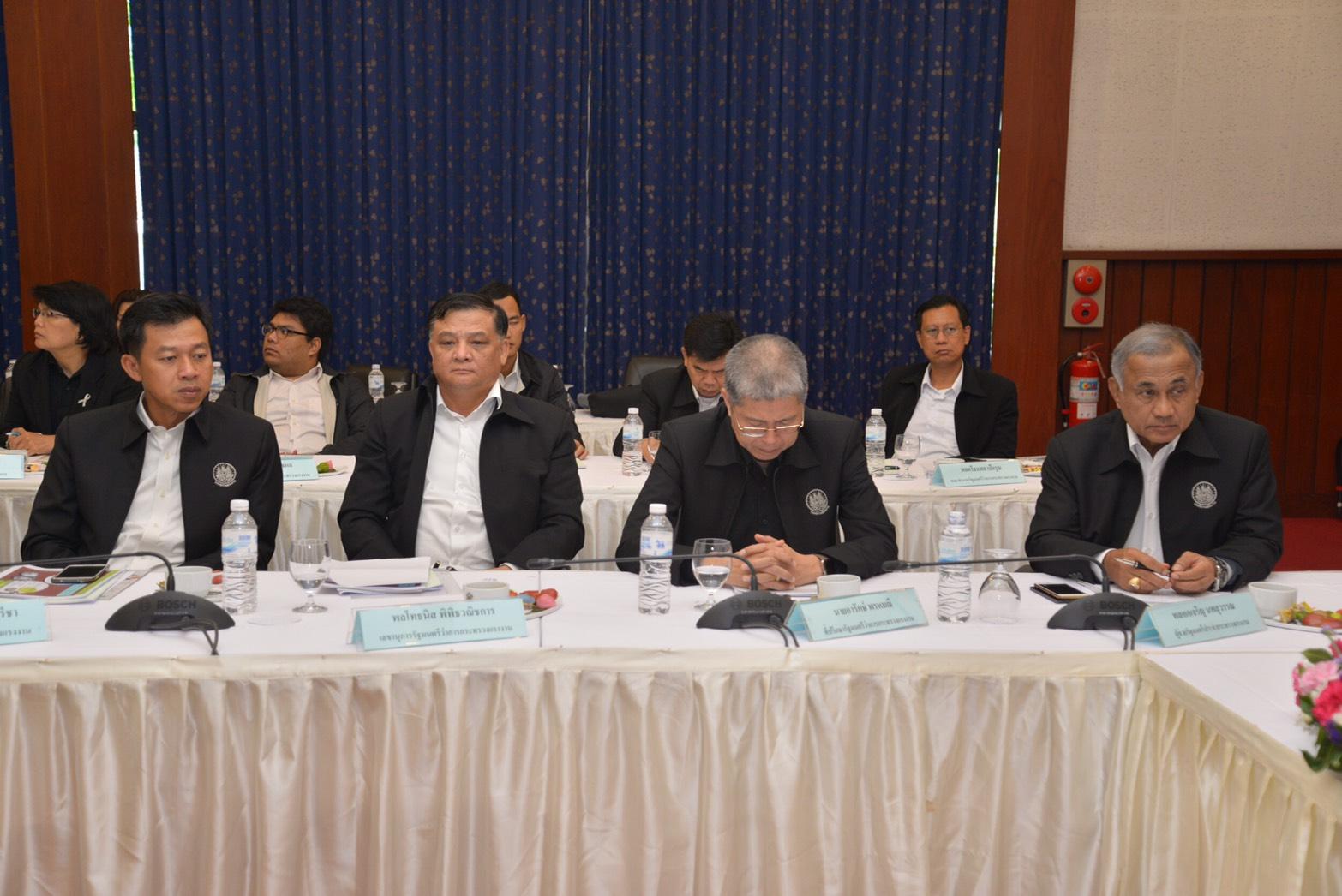 ผู้บริหารระดับสูง กระทรวงแรงงาน เดินทางไปตรวจเยี่ยม และรับฟังมาตรการความปลอดภัยในการทำงานจังหวัดระยอง ภาพรวมการดำเนินงานของการนิคมอุตสาหกรรมแห่งประเทศไทย และการบริหารจัดการด้านสิ่งแวดล้อมและความปลอดภัยในกลุ่มนิคมอุตสาหกรรมและท่าเรืออุตสาหกรรมพื้นที่มาบตาพ