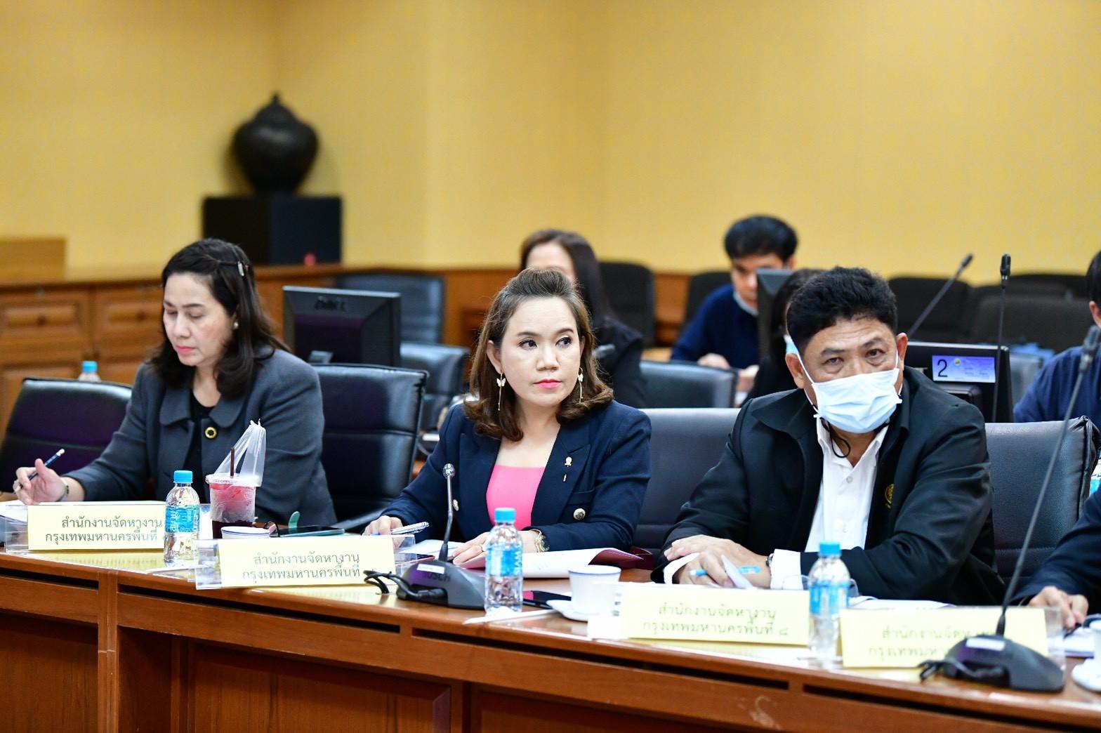 อธิบดีกรมการจัดหางาน ร่วมประชุมคณะกรรมการอำนวยการโครงการส่งเสริมการจ้างงานใหม่สำหรับผู้จบการศึกษาใหม่โดยภาครัฐและภาคเอกชน (Co-Payment) ครั้งที่ 9/2563