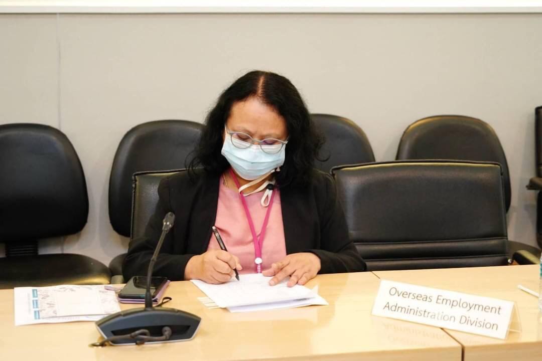 อธิบดีกรมการจัดหางาน เป็นประธานการประชุมหารือร่วมกับคณะผู้แทนหน่วยงานความร่วมมือระหว่างประเทศแห่งญี่ปุ่น