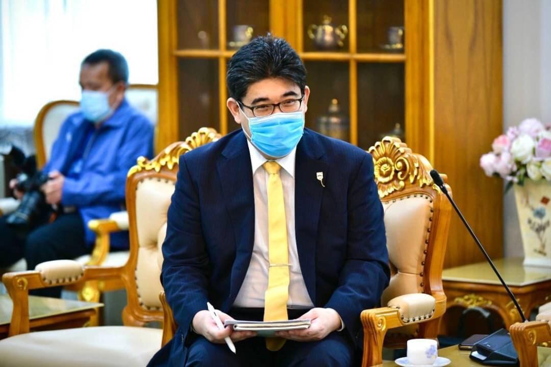ต้อนรับประธานองค์การส่งเสริมการค้าต่างประเทศของญี่ปุ่น ประจำกรุงเทพฯ (JETRO Bangkok) และคณะ