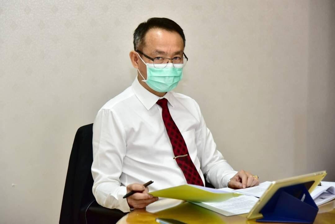 รองอธิบดีกรมการจัดหางาน ร่วมประชุมการพิจารณาร่างประกาศกระทรวงมหาดไทยสำหรับมาตรการช่วยเหลืออสังหาฯ