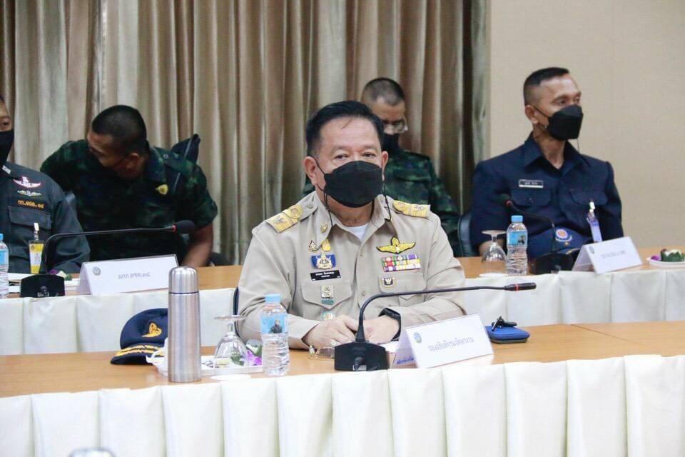 รองอธิบดีกรมการจัดหางาน ร่วมประชุมกองอำนวยการปฏิบัติการนโยบายชายแดนไทยกับประเทศเพื่อนบ้านฯ