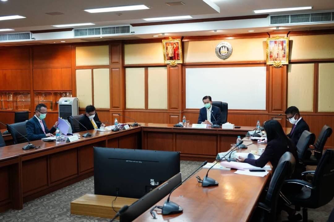 อธิบดีกรมการจัดหางาน ร่วมประชุมคณะกรรมการกองทุนเพื่อการบริหารจัดการการทำงานของคนต่างด้าว ครั้งที่ 9/2564
