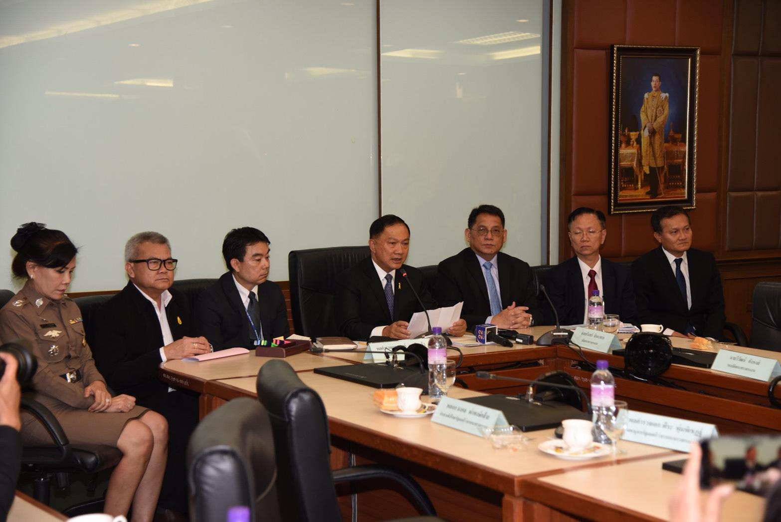 'บิ๊กอู๋' เร่งแก้ปัญหาแรงงานผิดกฎหมาย พร้อมเพิ่มประสิทธิภาพจัดส่งแรงงานไทยไปต่างประเทศ