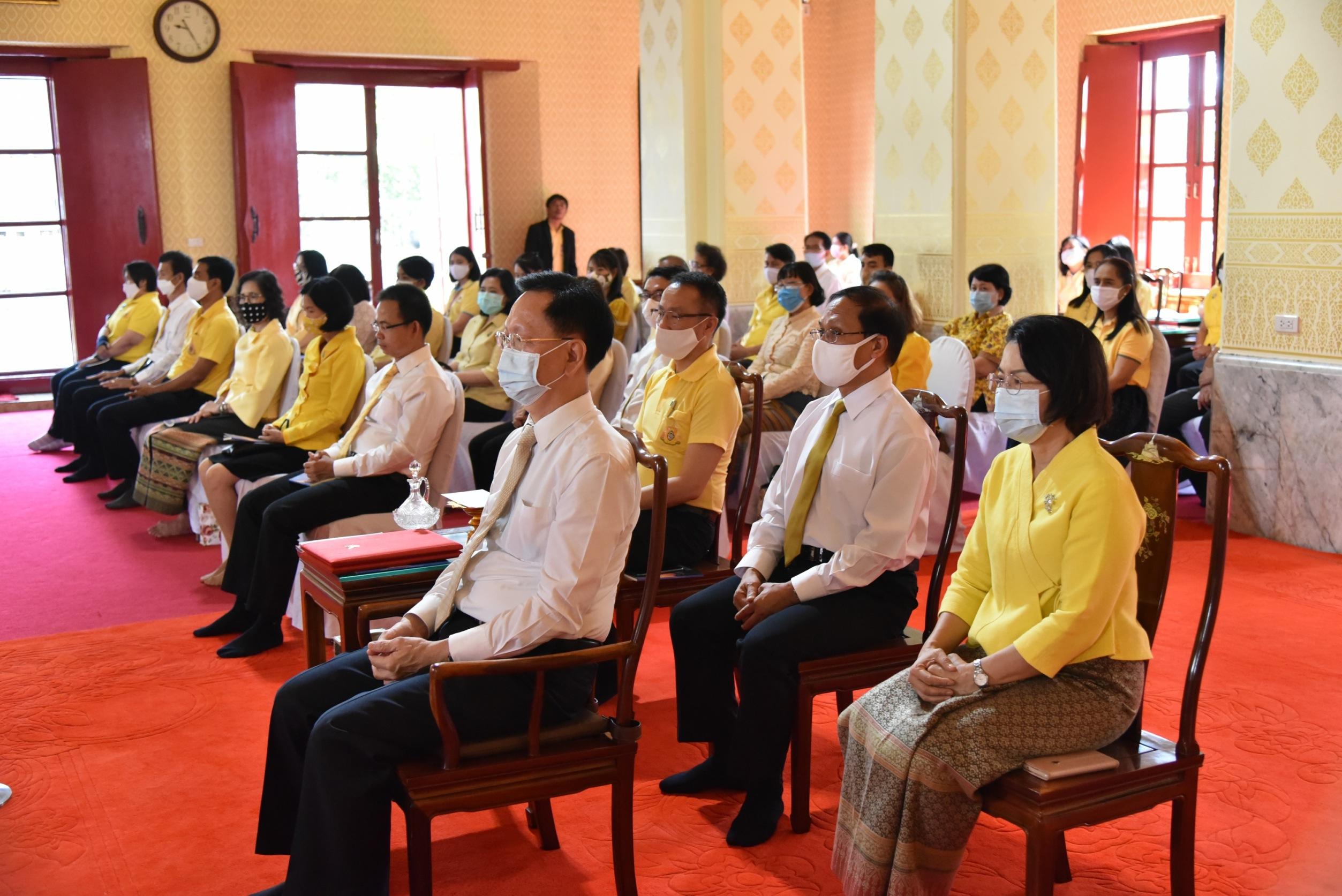 อธิบดีกรมการจัดหางาน  เปิดโครงการส่งเสริมคุณธรรม  และจริยธรรม กรมการจัดหางาน  ประจำปีงบประมาณ พ.ศ.2563