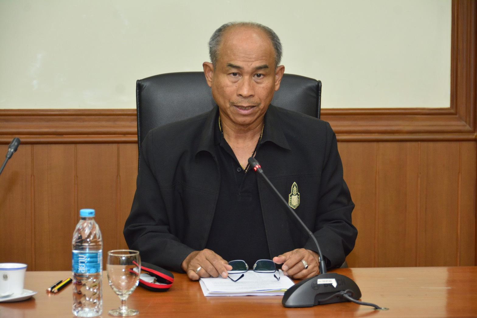 กกจ.จัดประชุมชี้แจงแนวทางการประเมินส่วนราชการตามมาตรการปรับปรุงประสิทธิภาพในการปฏิบัติราชการมาตรา 44