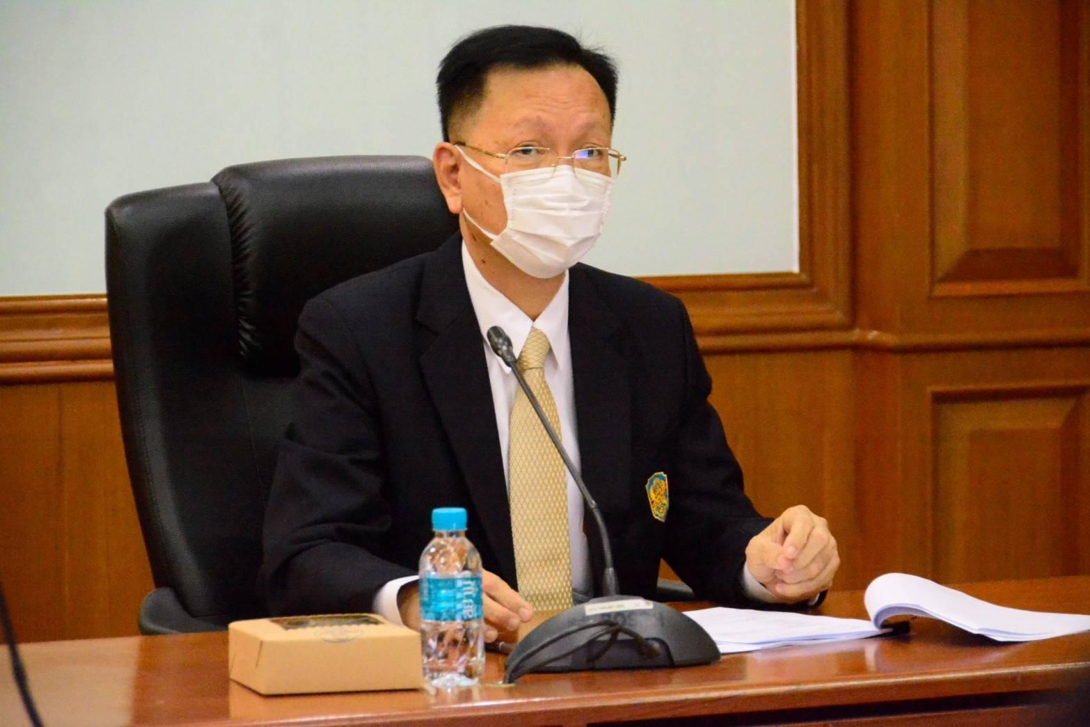 นายสุชาติ  พรชัยวิเศษกุล อธิบดีกรมการจัดหางาน เป็นประธานการประชุมคณะกรรมการบริหารพนักงานราชการของกรมการจัดหางาน ครั้งที่ 2/2563
