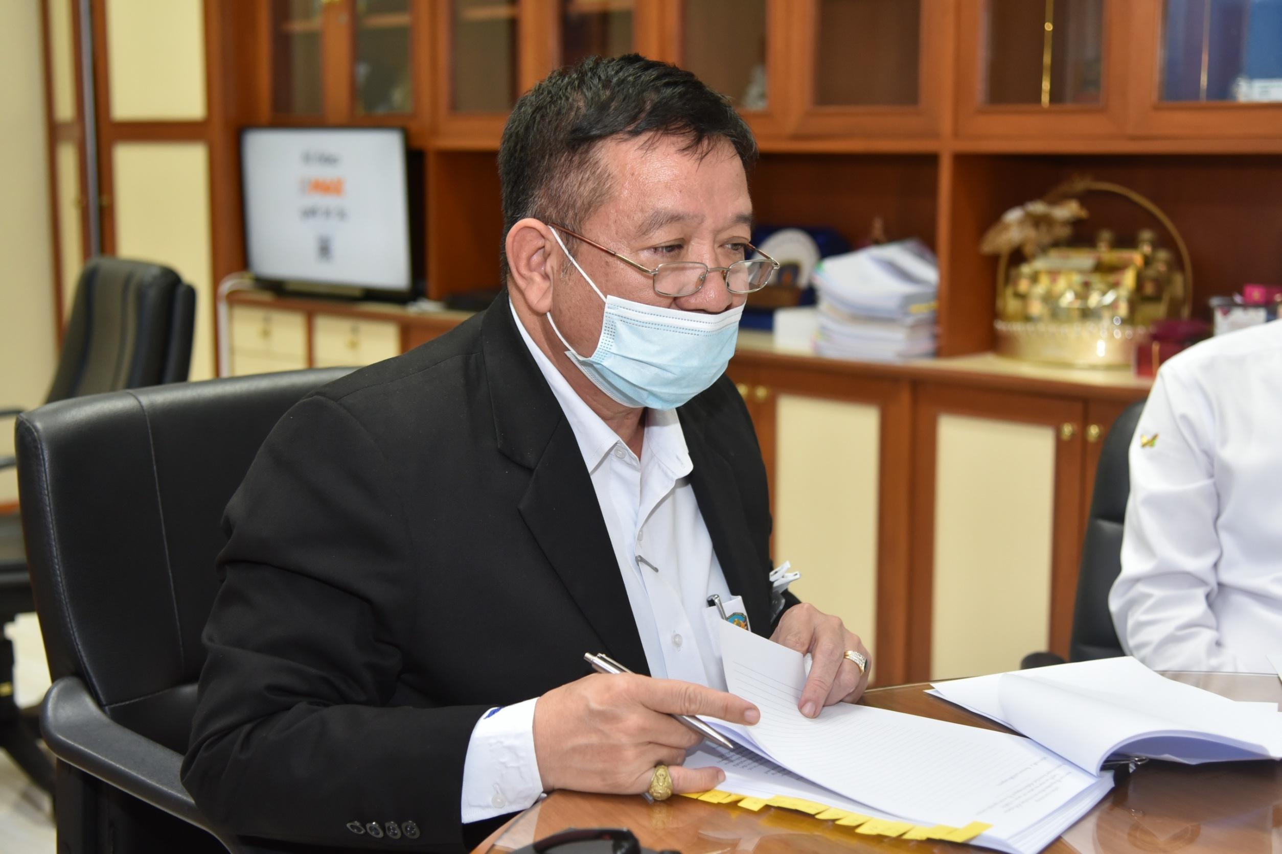 ผู้ตรวจราชการกรม   ร่วมประชุมคณะกรรมการฟื้นฟูและพัฒนาศักยภาพการประมงไทย  ครั้งที่ 4/2563