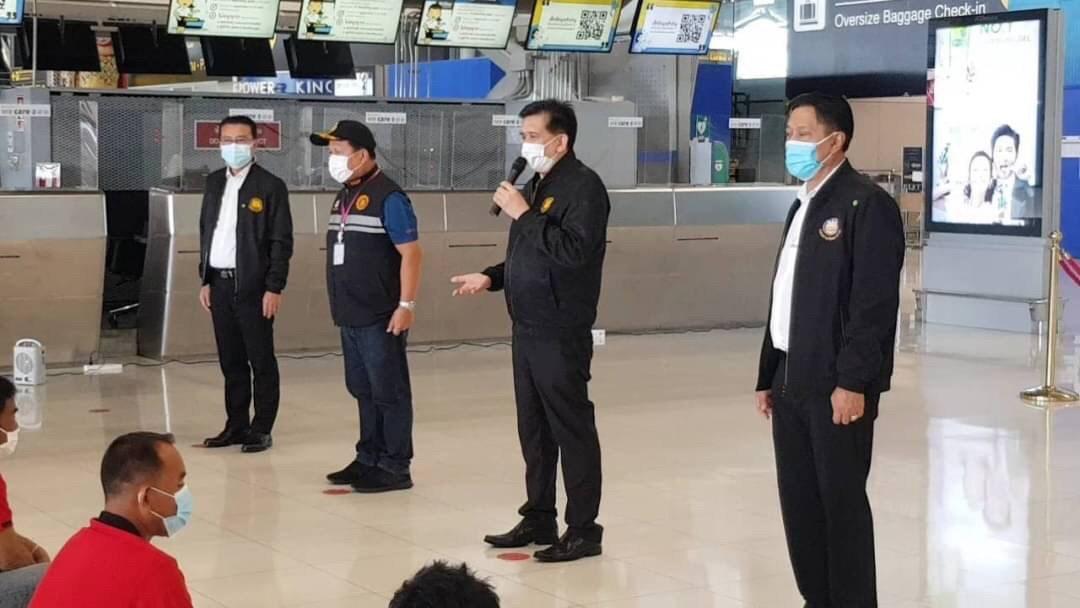 ตรวจเยี่ยมพร้อมให้กำลังใจแรงงานไทยก่อนเดินทางไปทำงานประเทศฟินแลนด์ และประเทศสวีเดน