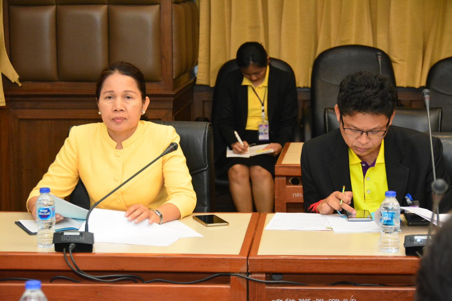 กกจ. ร่วมการประชุมคณะกรรมการบริหารสมาคมแม่บ้านกระทรวงแรงงาน ประจำปี 2562 ครั้งที่  3/2562