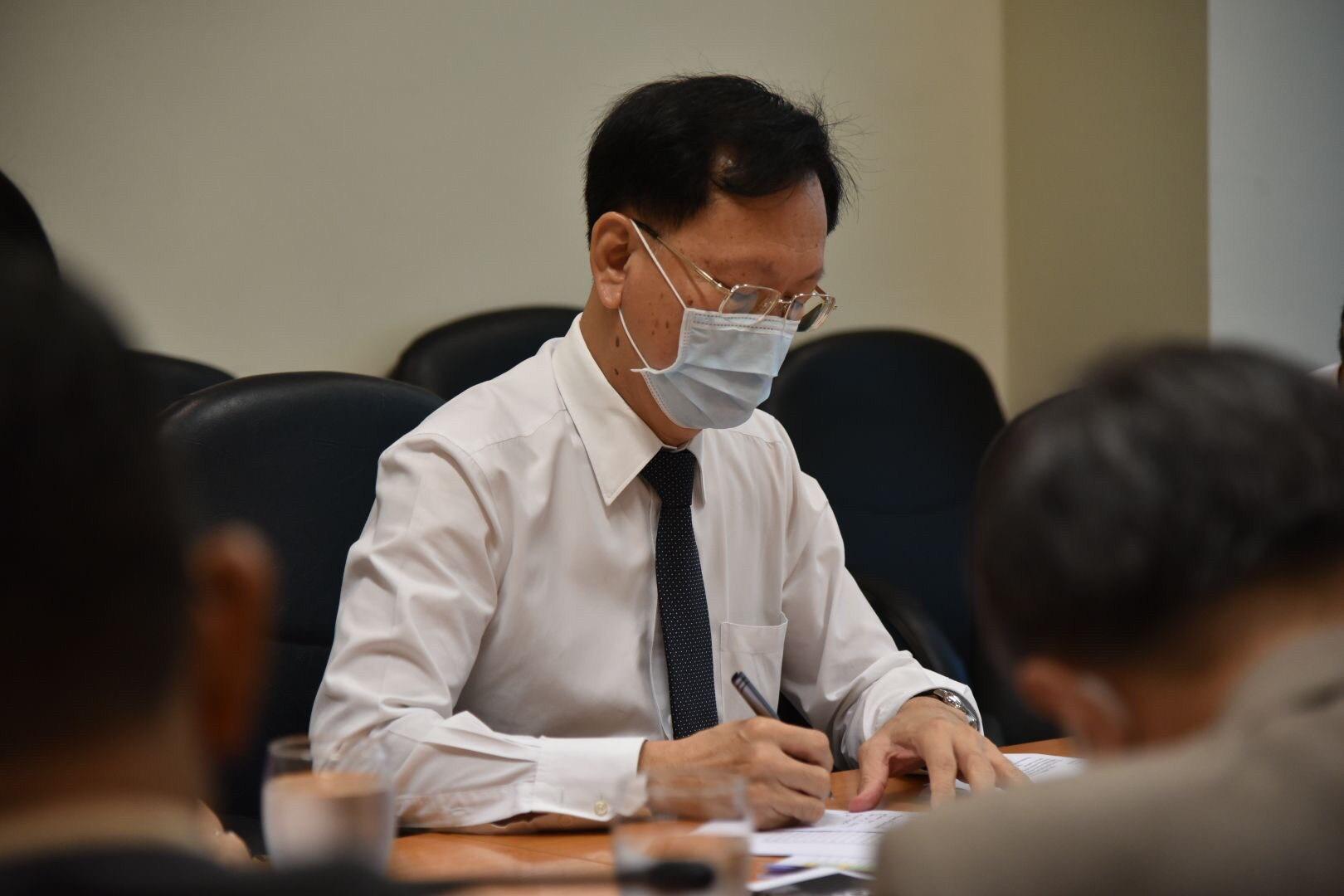 ประชุมติดตามความคืบหน้าโครงการ JOB EXPO THAILAND 2020